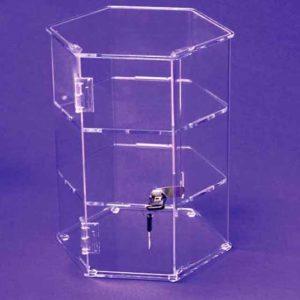 Hexagonal Display Case