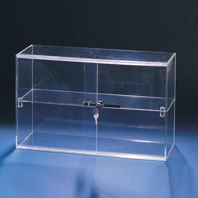 Lockable Cabinet with Sliding Doors