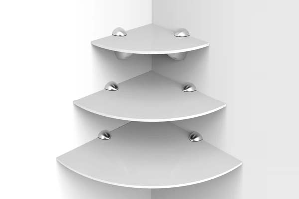 Acrylic Corner Shelf