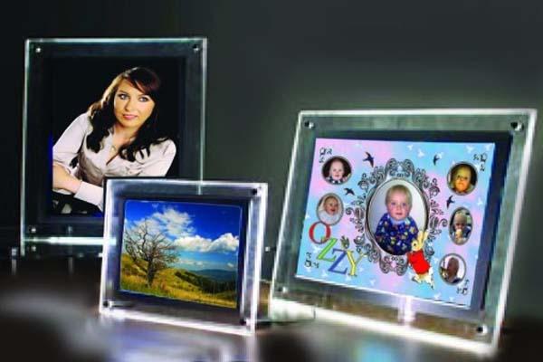 Acrylic LED Photo Frame