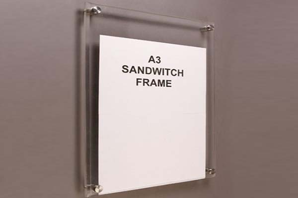 Acrylic Sandwich Board
