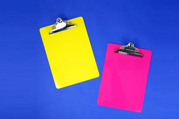 Acrylic Clipboard