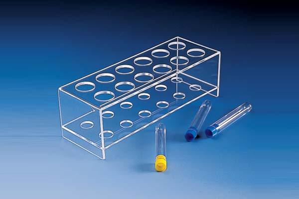 Acrylic Test Tube Rack