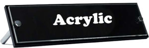 Acrylic title