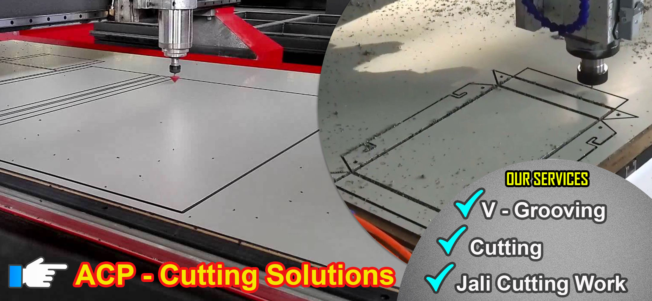 ACP Sheet Cutting Slide