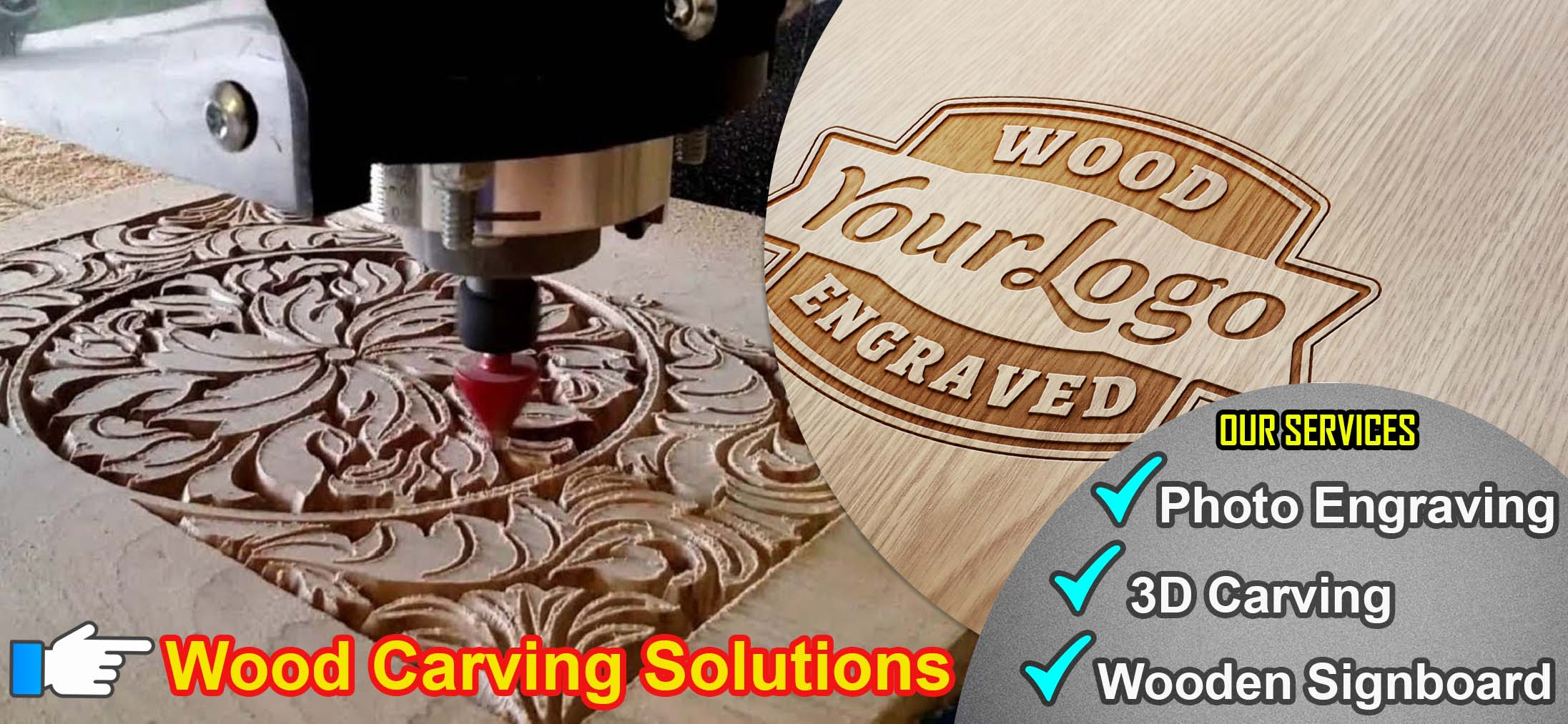 Wood Carving Work