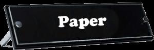 Paper title