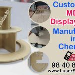 Customised MDF Display Stand