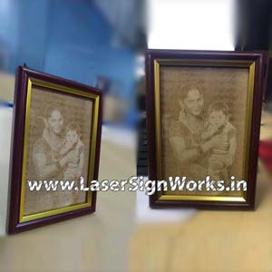Personalized MDF Photo Engraving
