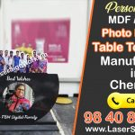 Photo Printed Table Top Clock