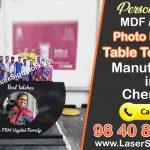 Photo Printed Table Top Clock