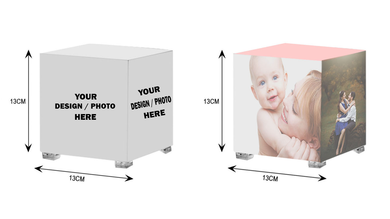 Personalised Gifts, Photo Cube Gifts